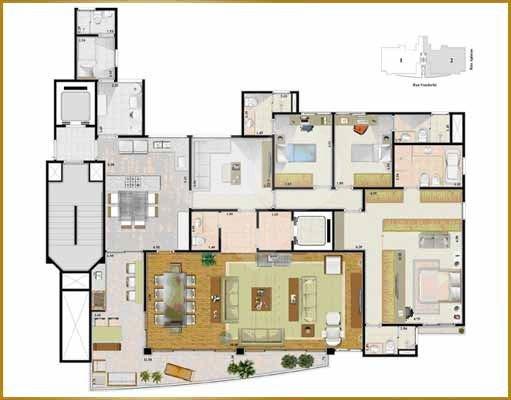 Apartamento de 4 dormitórios em Parque Residencial Oratorio, São Paulo - SP