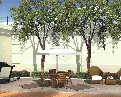 Perspectiva Ilustrativa do Terraço Jardim JARDIM PAULISTA