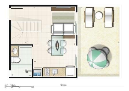 Spazio 31 de 1 dormitório em Ceilândia Norte (Ceilândia), Ceilândia - DF
