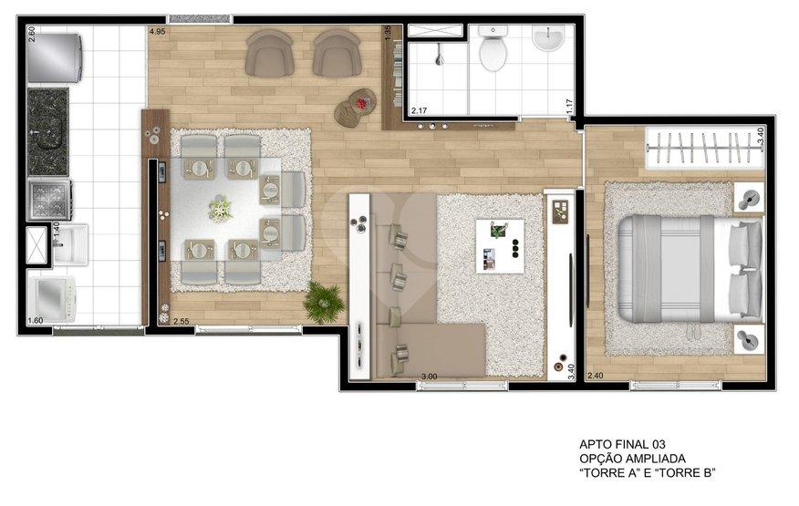 Apartamento de 2 dormitórios em Jardim Helena, São Paulo - SP