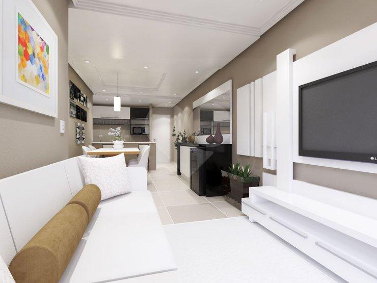 Dormitorio Genova ~ Edifício G u00eanova Apartamento Paraíso Santo André SP Lopes Imobiliária