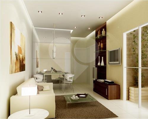 Sala do Apartamento de 2 Dormitórios Pedras