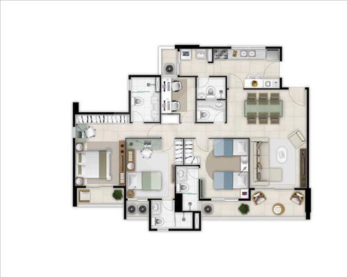 Imóvel Apartamento L´Acqua di Fátima Fátima Fortaleza CE