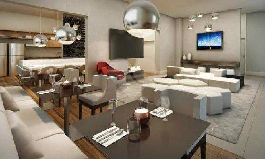 Apartamento de 1 dormitório à venda em Vila Cordeiro, São Paulo - SP