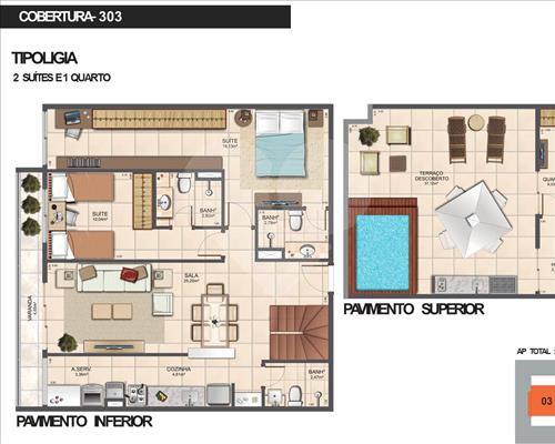 Imóvel Apartamento Ocean Prime Barra da Tijuca Rio de Janeiro RJ