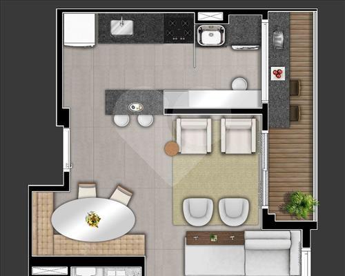 Imóvel Apartamento Flórida Barueri Parque Viana Barueri SP