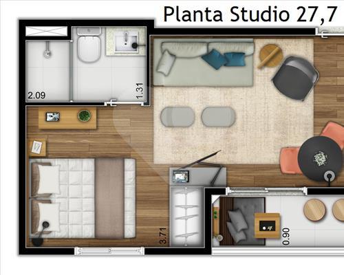 Imóvel Apartamento Mobi Liberdade Sé São Paulo SP