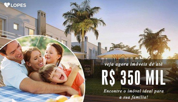 Banner Imóveis Promo até R$ 350 mil!