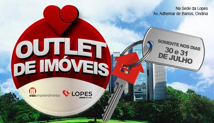 Banner Imóveis Promo OUTLET DE IMÓVEIS